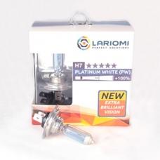 LARIOMI Лампа Галогенная H7 12v 55w Px26d Platinum White LARIOMI