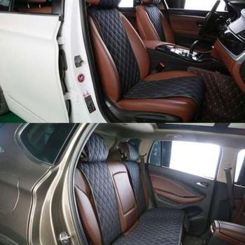 Накидки на сиденья из алькантары GT Plus (комплект)