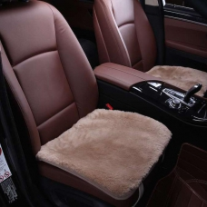 Квадраты из меха (короткий ворс) на сиденья автомобиля