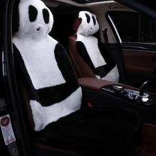 Накидки из искусственного меха на сиденья автомобиля (панда)