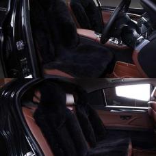 Комплекты меховых накидок на весь салон автомобиля комбинированный ворс (Австралия)