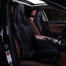 Комплекты накидок из меха волка на весь салон автомобиля