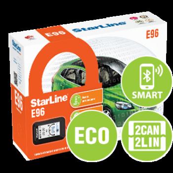StarLine E96 V2 BT ECO 2CAN+4LIN (центральный блок с интегрированным 2CAN+4LIN и Bluetooth Smart
