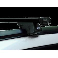 Багажная система NORD Integra-1 с дугами 1,3м в пластике для а/м с низким рейлингом