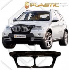 Дефлектор капота (exclusive) BMW X5 2007-2013 (Classic черный)