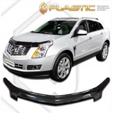 Дефлектор капота (exclusive) Cadillac SRX 2009–н.в. (Classic черный)