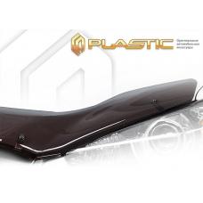 Дефлектор капота (exclusive) Fiat Punto (Classic полупрозрачный)