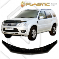 Дефлектор капота (exclusive) Ford Escape (Classic черный) (2008-2012)