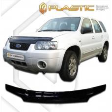 Дефлектор капота (exclusive) Ford Escape (Classic черный)