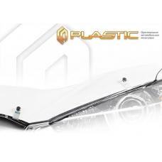 Дефлектор капота (exclusive) Ford Fiesta (Classic прозрачный)