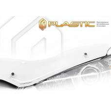 Дефлектор капота (exclusive) Ford Fiesta (Шелкография белая)