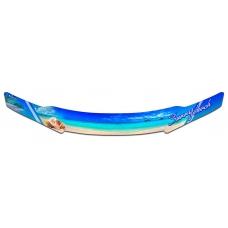 "Дефлектор капота Honda Fit Shuttle (Серия ""Полноцвет"" Коллекция)"