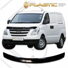 Дефлектор капота Hyundai H1 (Classic черный)