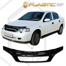 Дефлектор капота (exclusive) Chevrolet Viva (Classic черный)