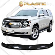 Дефлектор капота (exclusive) Chevrolet Tahoe (Classic черный)