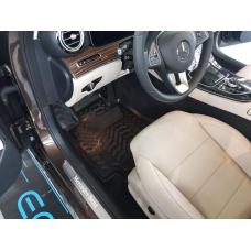Ковры салонные модельные (высокий борт, 3D с подпятником) Aileron на Mercedes-Benz C class W205/S205/C205 [2014-...]