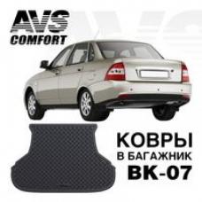 КОВЁР В БАГАЖНИК 3D LADA PRIORA SD/WАG AVS BK-07