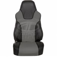 """""""R.SPORT"""" Lada 2110 (1996-2007); черный-серый; экокожа"""