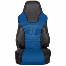 """""""R.SPORT"""" Lada 2110 (1996-2007); черный-синий; экокожа"""
