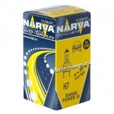 NARVA RANGE POWER 50+ H7