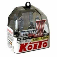 KOITO WHITEBEAM III HB3 4200K 12V 65W (120W)